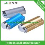 Full Capacity Metal Cigar Lighter External Power Bank 2000mah Powerbank, Mobile Battery