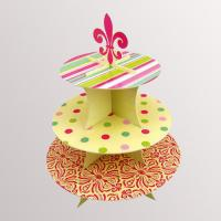 China Pop Cupcakes Wedding Cake Displays For Party Colorful Environmental on sale