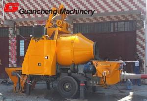 China Small Electric concrete mixer pump / concrete mixing pump / concrete mixer machine on sale