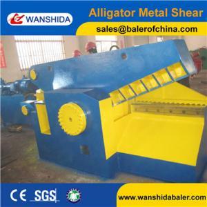 China China Wanshida Metal Steel Cut Shearing Equipment supplier Europe Quality CE certificate on sale