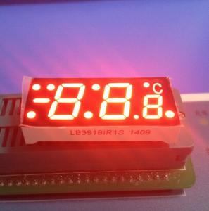 Quality SGS Red  7 Segment Display For Digital Temperature Controller , Common Cathode 7 Segment Display for sale