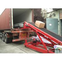 Movable Conveyor Belt For Loading And Unloading 50kg Bags To Trucks Containers Trailers