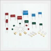 Electronics Part Plastic Film Capacitor
