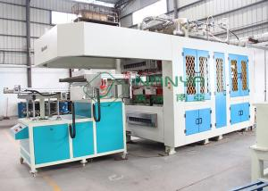 China Efficiency Automatic Paper Tableware / Cutlery Virgin Pulp Molding Machinery on sale