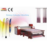 China High Speed Heat Press Printing Machine Rotary Calender Machine One Year Warranty on sale
