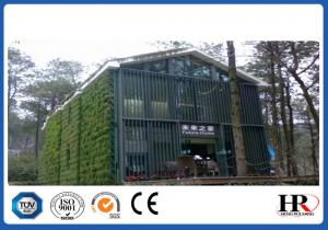 China Customized Galvanized Prefabricated Light Steel Frame House For Warehouse / Showroom on sale