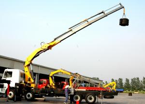 China High Lifting Capacity 14T Knuckle Boom Truck Mounted Crane For Transporting Heavy Things on sale