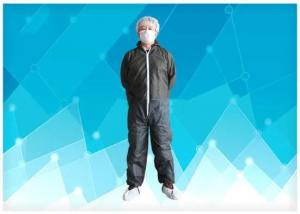 China Non Stimulating Materials  Comfortable Disposable Protective Coverall with IOS Approved on sale