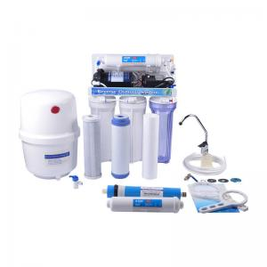China 50GPD RO Unit Reverse Osmosis Water Filter For Home And Aquarium Use on sale