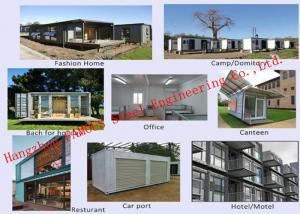 China Modern Environmental Foldable Prefab Container House Multi-functional Mobile House Easy Assemble on sale