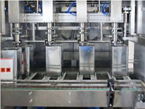 China High Precision Beer Bottling Equipment 3 In 1 Automatic Capping Machine on sale