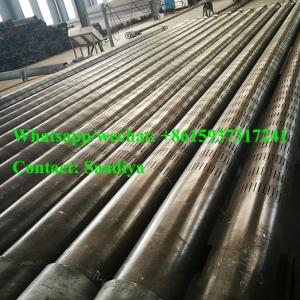 China API 5CT Slotted Liner/slotted casing sand control for oil gas water well on sale