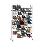 China Durable Wire Floor Shoe Display Racks Hotel Furniture wholesale