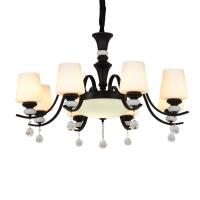 China Crystal and iron chandelier for indoor home Hanging lamp (WH-CI-103) on sale