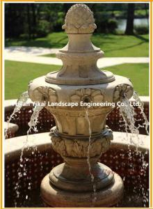 China Carved Natural Stone Water Fountain on sale