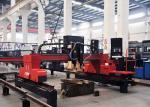 Industrial Gantry Type CNC Plasma Flame Metal Cutting Machine with Panasonic Motor