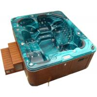 China Outdoor Freestanding Swim Spa Tub Acrylic Material For 5 - 6 Persons on sale
