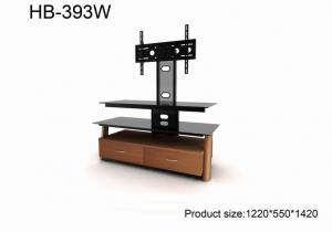 China TV Stand , Wood TV Stand , Flat TV or Monitor Media TV Stand on sale