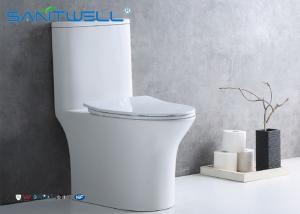 China Single flush Toilet / 1 pc Toilet  Economic steam room Washdwon on sale