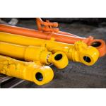 Double Acting Tie Rod Hydraulic Cylinder Chrome Plating Surface Treatment