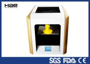 China Yellow 0.1 ~ 0.4 Mm Accuracy Industrial Grade 3D Printer For ABS Filaments on sale