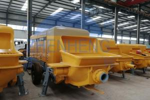 China Fuel Saving Concrete Mixing And Pumping Machine High Performance Easy To Clean on sale