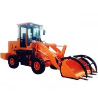 China CE Approved New Design Grasping Wood/Log/ Grass Machine Wheel Loader For Sale on sale