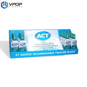 China Advertising Portable Counter Hook Display Stand For Teeth Health Care Products on sale