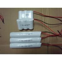 China 3.6Volt Nicd Battery Packs C2500MAH For Emergency Fixture , Outdoor Lighting on sale
