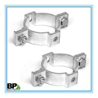"Single-side 2 3/8"" Round post coupler bracket For 2.016"" Round Post"