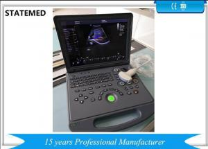 China Laptop Ultrasound Color Doppler Ultrasound Scanner With 15 Inch Led Screen on sale