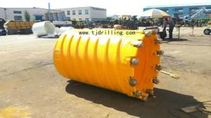 China Dia 1000mm Core Barrel with Roller Bit Used for Deep Foundation Piling Work on sale