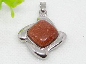 China semi precious stone pendant 1240013 on sale