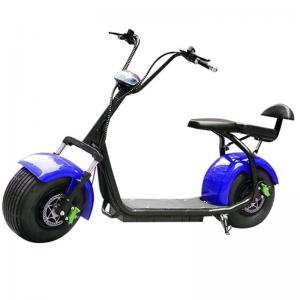 China Drive Motor Harley Electric Scooter / Blue Electric Motorcycle Wheel Size 18 X 9.5 Inches on sale