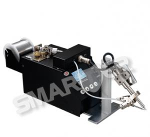 China Semi Automatic Soldering Machine C8 With LCD Display And Adjustable Angle Soldering Tips on sale