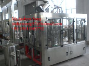 China PET Bottle Juice Hot Filling Machine with Fruit Piece on sale