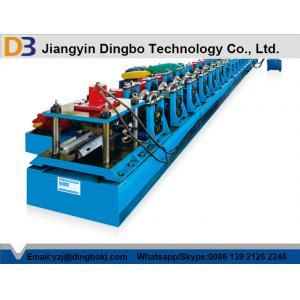 China 3phase / 50 Hz W-faisceau garde-fous Roll formant la Machine avec Cr 12 moule en acier Cutter lame on sale