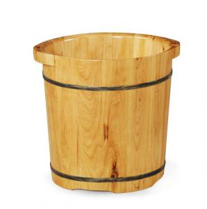 China Wooden Foot bath Barrel with Double-ear on sale