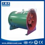 DHF HTF fire protection ventilation fans Fire-fighting smoke exhaust axial flow fan with high temperature