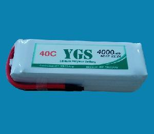 China 22.2v 2200mAh 30c High Rate Lipo Battery for RC Toy on sale