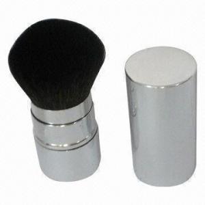 China Makeup Brush/Powder Brush/Retractable Makeup Brush, Superior Animal, Aluminum on sale