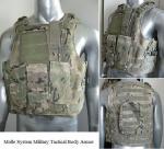 NIJ IIIA, III et IV armure tactique BPV-MT01 de gilet à l'épreuve des balles de système militaire de Molle