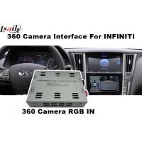 360 Degree Panoramic View RGB Infiniti Q50/Q60 Rear Camera Interface