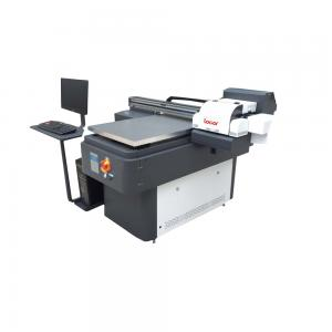 China Digital Control UV Flatbed Printer Used for Mobile Cases , Lighting pens and T Shirts Size A1 on sale
