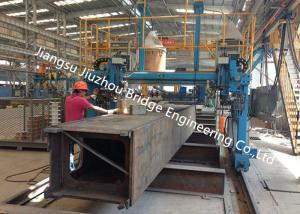 China Large Span Steel Structure Construction Prefab Box Column Members Customized on sale