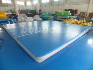 China Good Airtightness Inflatable Air Tumble Track / Inflatable Gym Mats on sale