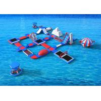 Entertainment Aqua Giant Inflatable Water Park Obstacle Course Large Water Inflatables