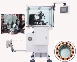 China Muti pole  stator winding machine 4,6,8,9,12 arms BLDC Stator winder needle winding on sale