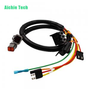 Astounding Custom Automotive Connecting Harness Trailer Plug Wiring Loom For Wiring Cloud Philuggs Outletorg