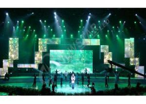 China SMD High Definition Rental Led Displays , Slim Led Video Screen Rental Best Visualization on sale